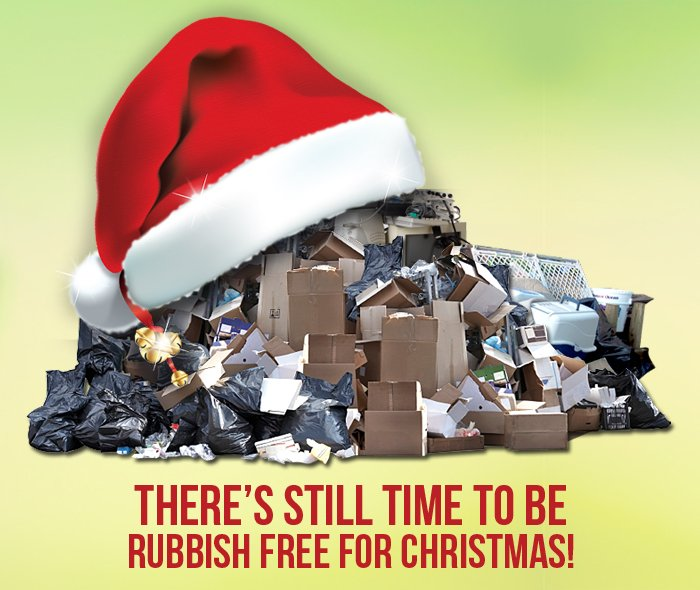 Rubbish To Go Xmas Popup